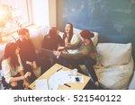 having fun during preparing... | Shutterstock . vector #521540122