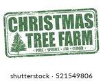 Christmas Tree Farm Grunge...