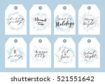 vector big collection of hand... | Shutterstock .eps vector #521551642