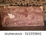 The Red Jaguar Mural Painting...