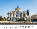palacio de bellas artes  fine... | Shutterstock . vector #521565016