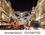 christmas lights 2016 in... | Shutterstock . vector #521569702