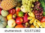 fruit background  many fresh...
