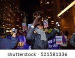 new york city   november 22... | Shutterstock . vector #521581336