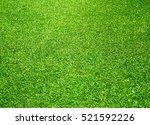 green grass background turf...   Shutterstock . vector #521592226