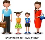my family  icons  | Shutterstock .eps vector #52159804