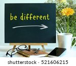 be different   the message on... | Shutterstock . vector #521606215