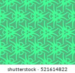 abstract geometric seamless... | Shutterstock .eps vector #521614822