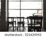 cafe coffee shop interior...   Shutterstock . vector #521624542
