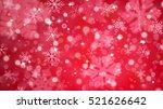 christmas background with white ... | Shutterstock . vector #521626642