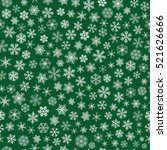 christmas seamless pattern of... | Shutterstock . vector #521626666