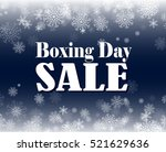 boxing day sale | Shutterstock .eps vector #521629636