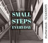 inspirational motivational... | Shutterstock . vector #521630095