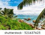 amazing tropical beach | Shutterstock . vector #521637625
