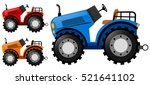 Tractors In Three Colors...