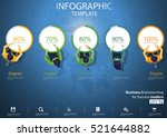 business brainstorming for... | Shutterstock .eps vector #521644882
