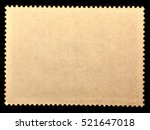 old posted stamp reverse  side... | Shutterstock . vector #521647018