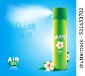design natural air freshener... | Shutterstock .eps vector #521653702