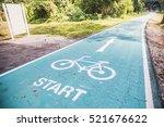 Bicycle Lane Road Start Point