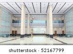 futuristic corridor modern... | Shutterstock . vector #52167799