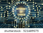 internet of things  iot  and...   Shutterstock . vector #521689075