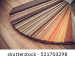 small color sample boards.... | Shutterstock . vector #521703298