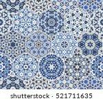 eastern seamless pattern tiles. ...   Shutterstock .eps vector #521711635