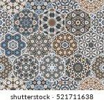 Eastern Seamless Pattern Tiles. ...