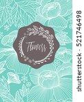 creative template design... | Shutterstock .eps vector #521746498