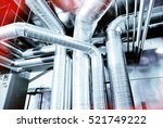 Small photo of Ventilation pipes of an air condition