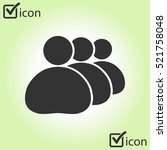 people or social sign icon.