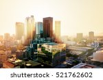 los angeles  california  usa... | Shutterstock . vector #521762602