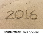 Number Of Year 2016 Written On...