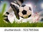 3d Rendering Soccer Player...