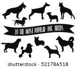 dog breeds set. dogs icons. dog ...   Shutterstock .eps vector #521786518