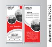 roll up business banner design...   Shutterstock .eps vector #521792062