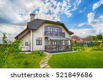 country house | Shutterstock . vector #521849686