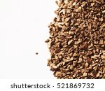 ground coffee background ... | Shutterstock . vector #521869732