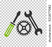 tuning service icon. vector... | Shutterstock .eps vector #521877082