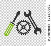 tuning service icon. vector... | Shutterstock .eps vector #521877082