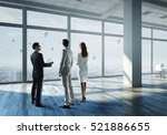 working together for best... | Shutterstock . vector #521886655