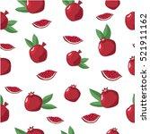 seamless vector pattern. bright ... | Shutterstock .eps vector #521911162