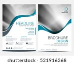 brochure layout design template ... | Shutterstock .eps vector #521916268