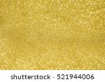 abstract background gold bokeh | Shutterstock . vector #521944006