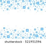 abstract squares background.... | Shutterstock .eps vector #521951596