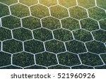 soccer or football net... | Shutterstock . vector #521960926