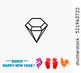 diamond vector icon