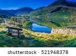 rest for a moment at buttermere ... | Shutterstock . vector #521968378