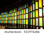 Color Of Glass's Window With...