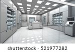 electronics store room. without ... | Shutterstock . vector #521977282